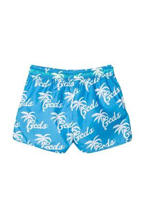 Teen swim shorts with Gcds kids press GCDS KIDS | 85 | 027969919T