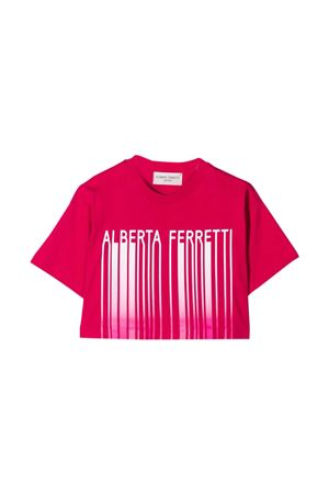 T-shirt con stampa Alberta Ferretti Kids Alberta ferretti kids | 8 | 027437044