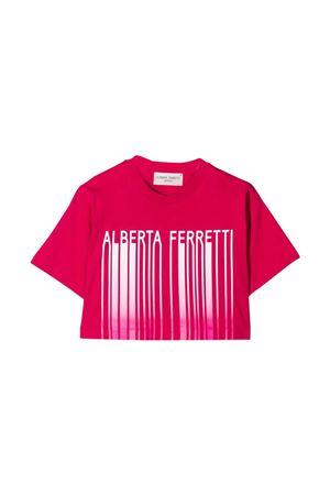 T-shirt teen con stampa Alberta Ferretti Kids Alberta ferretti kids | 8 | 027437044T