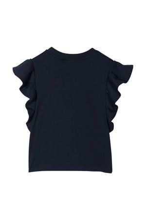 Blue t-shirt with frontal logo Alberta Ferretti kids Alberta ferretti kids | 8 | 027438060