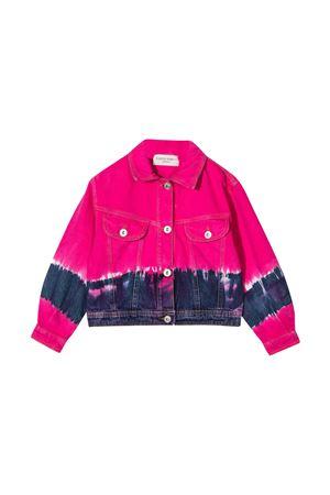 Alberta Ferretti Kids fuchsia teen denim jacket  Alberta ferretti kids | 8 | 027813044T