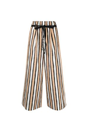 Pantaloni a palazzo a righe Alysi ALYSI | 9 | 101135P1024CRETA