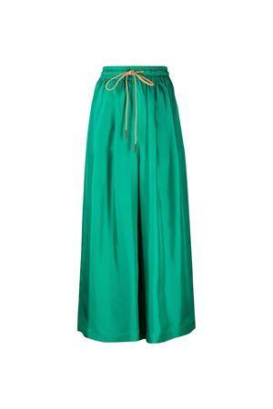 Pantaloni crop a gamba ampia Alysi ALYSI | 9 | 101149P1239ALOE
