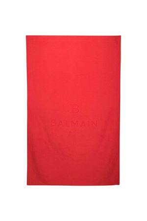 Asciugamano rossa Balmain Kids BALMAIN KIDS | 616841551 | 6M0709MX470409
