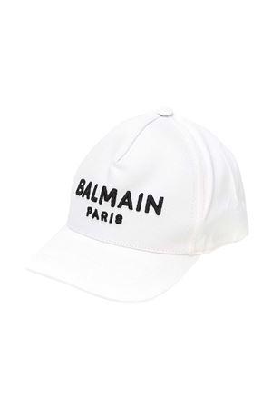 Cappello bianco Balmain Kids BALMAIN KIDS | 75988881 | 6M0787MX560100