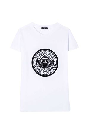 T-shirt bianca teen Balmain Kids BALMAIN KIDS | 8 | 6M8091MX030100T