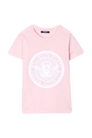T-shirt rosa Balmain Kids BALMAIN KIDS | 8 | 6M8091MX030506