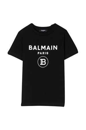 T-shirt nera teen Balmain Kids BALMAIN KIDS | 8 | 6M8701MX030930BCT
