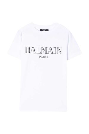 T-shirt bianca Balmain Kids BALMAIN KIDS | 8 | 6M8721MX030100