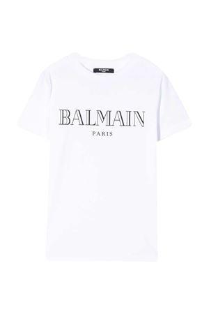 T-shirt bianca teen Balmain Kids BALMAIN KIDS | 8 | 6M8721MX030100T