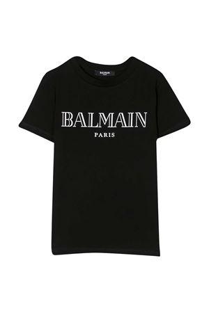 T-shirt nera teen Balmain Kids BALMAIN KIDS | 8 | 6M8721MX030930T