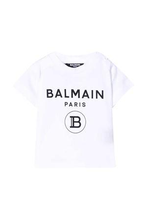 T-shirt bianca Balmain Kids BALMAIN KIDS | 8 | 6M8901MX030100NE