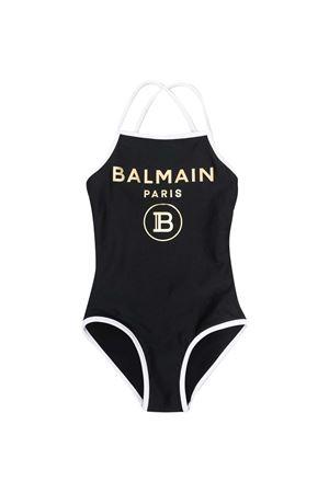 Costume teen da bagno con stampa Balmain kids BALMAIN KIDS | 85 | 6O0079OX410930BCT