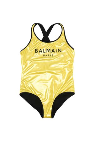 Costume da bagno oro teen Balmain Kids BALMAIN KIDS | 85 | 6O0089OX420220T