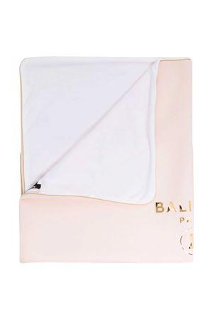 Pink blanket Balmain kids BALMAIN KIDS | 69164127 | 6O0810OB570503