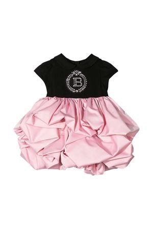Vestito bicolore Balmain kids neonata BALMAIN KIDS | 11 | 6O1851OB690930RS
