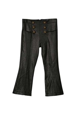 Pantaloni neri teen Balmain Kids BALMAIN KIDS | 9 | 6O6071OB020930T