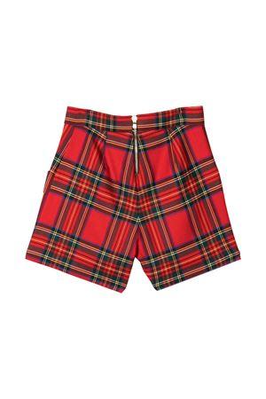 Shorts verdi e rossi Balmain Kids BALMAIN KIDS | 30 | 6O6149OB030409VE