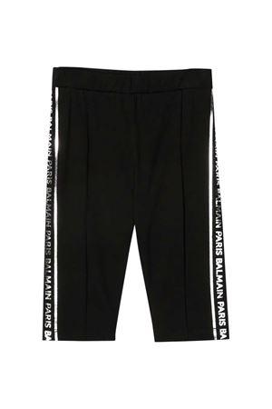 Pantaloni neri Balmain kids BALMAIN KIDS | 9 | 6O6179OB690930AG
