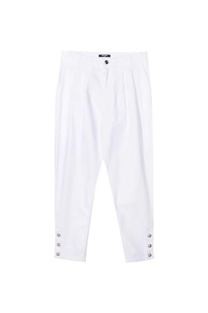White trousers Balmain Kids  BALMAIN KIDS   9   6O6190OC120100AG