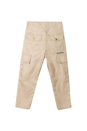 Pantalone beige teen Balmain kids BALMAIN KIDS | 9 | 6O6630OC080108T