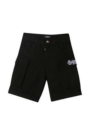 Black shorts teen Balmain kids BALMAIN KIDS | 30 | 6O6679OC120930T