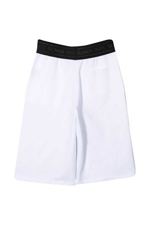 Pantaloni sportivi con banda logo Balmain kids BALMAIN KIDS | 30 | 6O6749OX370100