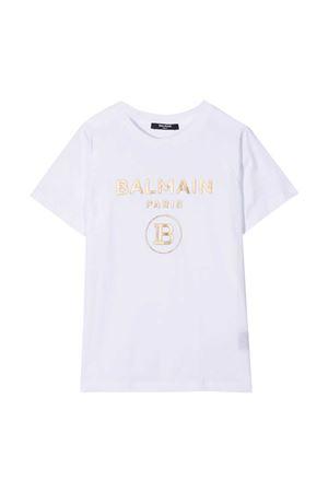 T-shirt bianca Balmain Kids BALMAIN KIDS | 8 | 6O8101OX390100OR