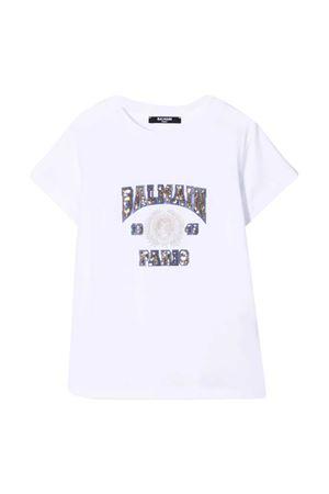 Balmain kids sequin T-shirt BALMAIN KIDS | 8 | 6O8171OX390100