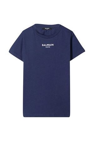Blue T-shirt teen Balmain kids  BALMAIN KIDS   8   6O8561OB690625BCT