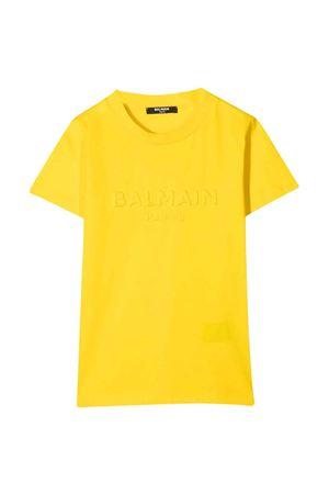 T-shirt gialla Balmain Kids BALMAIN KIDS | 8 | 6O8631OX390201