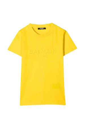 T-shirt gialla teen Balmain Kids BALMAIN KIDS | 8 | 6O8631OX390201T