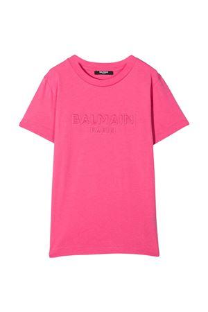 T-shirt fucsia Balmain Kids BALMAIN KIDS | 8 | 6O8631OX390513