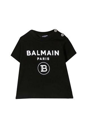 T-shirt con stampa Balmain kids BALMAIN KIDS | 8 | 6O8A21OX390930BC