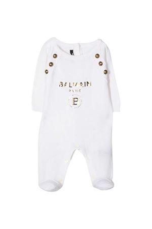 White baby suit Balmain Kids BALMAIN KIDS | 42 | 6O9A40OX800100