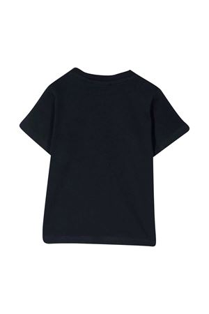 T-shirt blu con stampa bianca Boss kids BOSS KIDS | 8 | J05831849