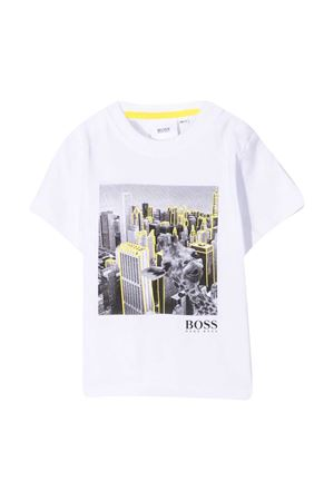 T-shirt bianca BOSS Kids BOSS KIDS | 8 | J0583710B
