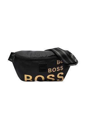 Marsupio nero con stampa Boss kids BOSS KIDS | 5032342 | J2028909B