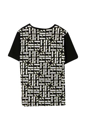 T-shirt nera con stampa posteriore Boss kids BOSS KIDS   8   J25G9409B
