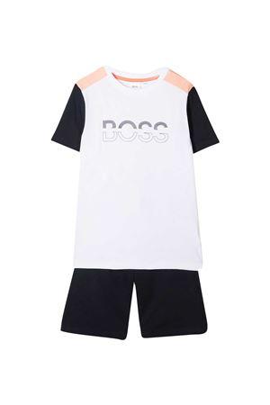 Completo con T-shirt e shorts sportivi Boss kids BOSS KIDS | 42 | J28084Z40