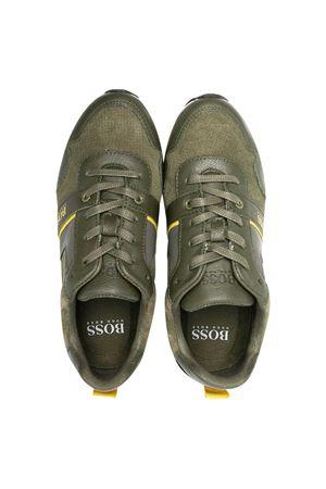 Sneakers verde militare BOSS Kids BOSS KIDS | 12 | J2925364C