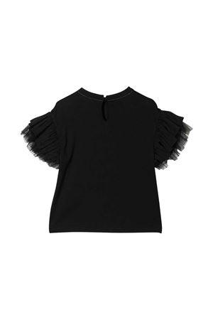 T-shirt nera teen Brunello Cucinelli Kids Brunello Cucinelli Kids | 1169408113 | B0A45T016C101T