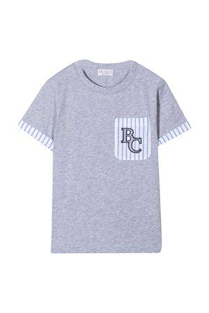 T-shirt Baby con ricamo Brunello Cucinelli kids Brunello Cucinelli Kids | 8 | B0B13L200C9300
