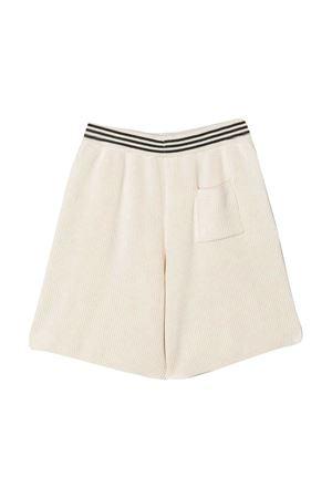 Shorts teen con bordo a righe Brunello Cucinelli kids Brunello Cucinelli Kids | 5 | B19M13799CP070T