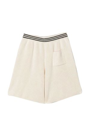 Shorts con bordo a righe Brunello Cucinelli kids Brunello Cucinelli Kids | 5 | B19M13799CP070