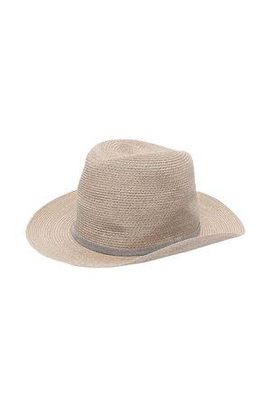 Cappello con perline Brunello Cucinelli kids Brunello Cucinelli Kids | 75988881 | BCAP90301CG643