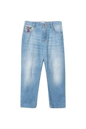 Brunello Cucinelli kids slim jeans Brunello Cucinelli Kids | 9 | BE645D300C1469