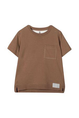 T-shirt cacao Brunello Cucinelli kids Brunello Cucinelli Kids | 8 | BE857T113CD141