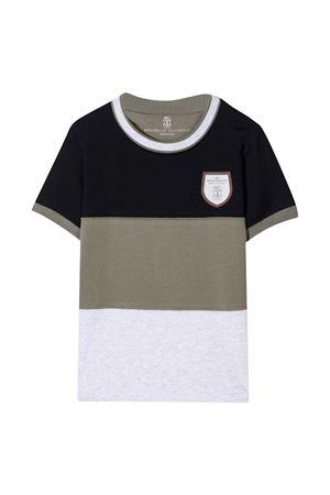 T-shirt multicolore teen Brunello Cucinelli kids Brunello Cucinelli Kids | 8 | BE857T123CE450T