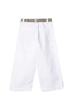 Pantaloni bianchi Brunello Cucinelli Kids Brunello Cucinelli Kids | 9 | BH184P448C159